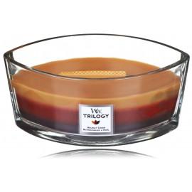 WoodWick Trilogy Holiday Cheer aromatinė žvakė