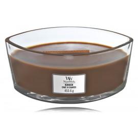 WoodWick Humidor aromatinė žvakė