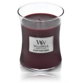 WoodWick Black Plum Cognac aromatinė žvakė