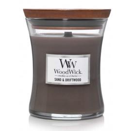 WoodWick Sand & Driftwood aromatinė žvakė