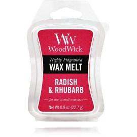 WoodWick Radish and Rhubarb aromatinis vaškas