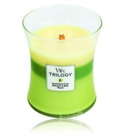 WoodWick Garden Oasis aromatinė žvakė