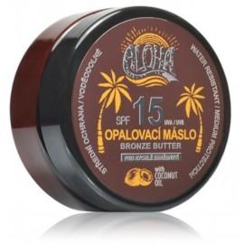 Vivaco Aloha kūno sviestas su kokosų aliejumi deginimuisi 200 ml.