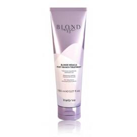Inebrya Blondesse Blonde Miracle Post-Bleach Treatment galvos odos kaukė po plaukų balinimo