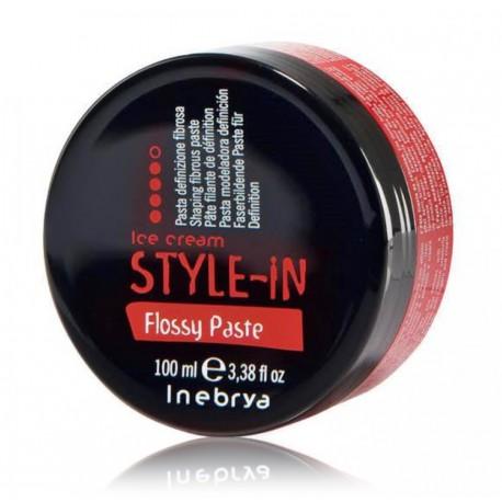 Inebrya Style-In Flossy Paste plaukų modeliavimo pasta