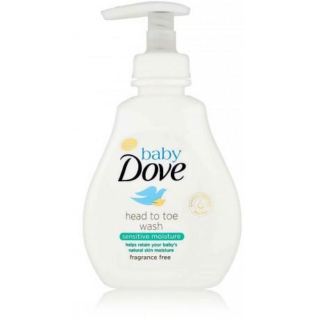 Dove Head to Toe Wash Sensitive Moisture švelnus prausiklis kūdikiams
