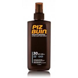 Piz Buin Moisturising Ultra Light Sun Spray apsauginis drėkinamasis purškiklis nuo saulės 200 ml.