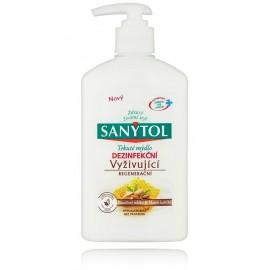 Sanytol Almond Milk & Royal Jelly maitinantis antibakterinis muilas