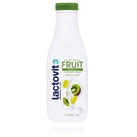 Lactovit Fruit Antiox dušo gelis su kivių ir vynuogių ekstraktais normaliai ir sausai odai