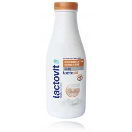 Lactovit Lactooil dušo gelis su migdolų aliejumi sausai odai