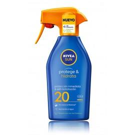 Nivea Sun Protect & Moisture apsauginis purškiklis su SPF20