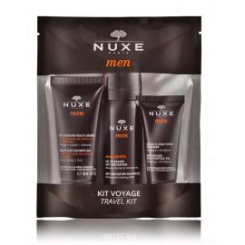 Nuxe Men Discovery Offer rinkinys vyrams ( 30 ml. dušo gelis + 35 ml. skutimosi gelis + 15 ml. veido gelis)