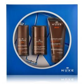 Nuxe Men Essential Skincare rinkinys vyrams (50 ml. dezodorantas + 50 ml. veido gelis + 100 ml. dušo gelis)