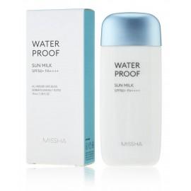 Missha Water Proof Sun Milk SPF50+ PA++++ vandeniui atsparus pienelis nuo saulės
