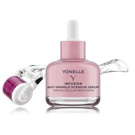 Yonelle Infusion Micro-Needling Treatment Set (mezoroleris + veido serumas nuo raukšlių 30 ml.)