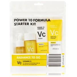 It's Skin Set Power 10 Formula rinkinys (Vc tonikas 12 ml. + serumas 52 ml. + kremas 35 ml. + valomosios putos 35 ml.)