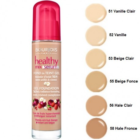 Bourjois Healthy Mix Serum makiažo pagrindas