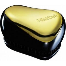 Tangle Teezer Compact Styler šepetys Juodas-Auksinis