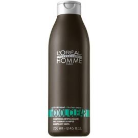 Loreal Professionnel Cool Clear šampūnas nuo pleiskanų vyrams 250 ml.