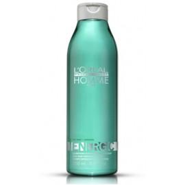 Loreal Professionnel Energic šampūnas su mėtomis vyrams 250 ml.