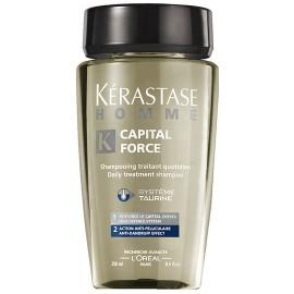 Kérastase Homme Capital Force šampūnas nuo pleiskanų vyrams 250 ml.