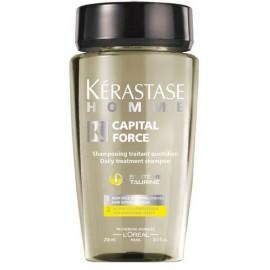 Kerastase Homme Capital Force gaivinantis šampūnas vyrams 250 ml.