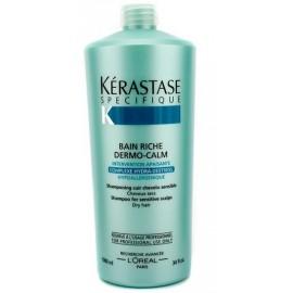Kérastase Dermo-Calm Bain Riche Haute Tolerance šampūnas  sausiems plaukams ir jautriai galvos odai 1000ml