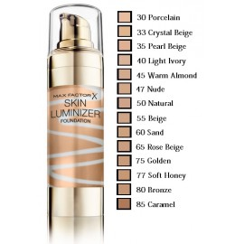 Max Factor Skin Luminizer makiažo pagrindas
