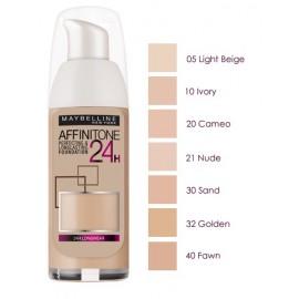 Maybelline Affinitone 24H makiažo pagrindas