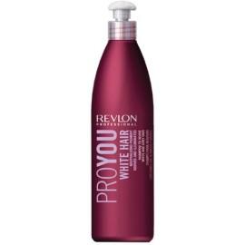 Revlon Professional Pro You White Hair šampūnas šviesiems plaukams 350 ml.