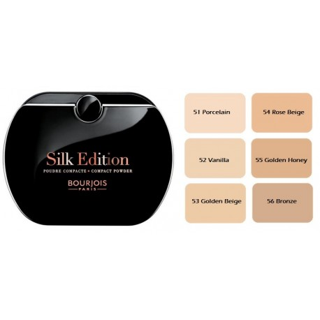 Bourjois Silk Edition kompaktinė pudra