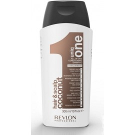 Revlon Uniq One daugiafunkcis šampūnas (kokosų kvapo) 300 ml.