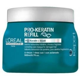 Loreal Professionnel Expert Pro-Keratin Refill atstatomoji kaukė su keratinu 500 ml.