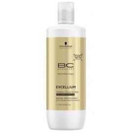 Schwarzkopf Professional BC Bonacure Excellium Taming glotninantis kondicionierius brandiems dažytiems plaukams 1000 ml.