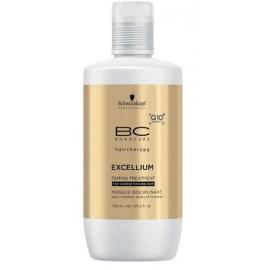 Schwarzkopf Professional BC Bonacure Excellium Taming glotninanti kaukė brandiems dažytiems plaukams 750 ml.