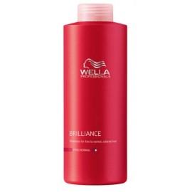 Wella Professionals Brilliance šampūnas ploniems/normaliems dažytiems plaukams 1000 ml.