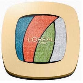 Loreal Color Riche Les Ombres akių šešėliai S4 Tropical Tutu
