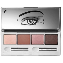 Clinique All About Eyes Quads akių vokų šešėliai 06 Pink Chocolate