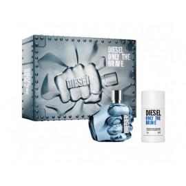 Diesel Only The Brave rinkinys vyrams (125 ml. EDT + Pieštukinis dezodorantas)