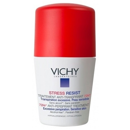 Vichy Stress Resist Anti-Perspirant 72H antiperspirantas 50 ml.
