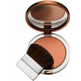 Clinique True Bronze Pressed Powder Bronzer bronzinė kompaktinė pudra 9.6 g. 02 Sunkissed