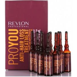 Revlon Professional Pro You Anti-Hair Loss priemonė nuo plaukų slinkimo 12x6 ml.