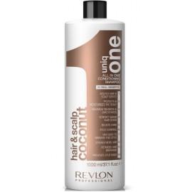 Revlon Uniq One daugiafunkcis šampūnas (kokosų kvapo) 1000 ml.