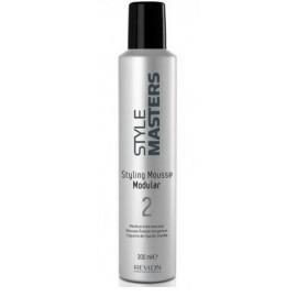 Revlon Professional Style Masters Modular 2 vidutinės fiksacijos plaukų putos 300 ml.