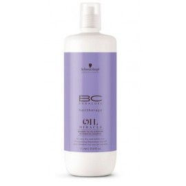 Schwarzkopf Professional BC Bonacure Oil Miracle šampūnas su opuncijomis ir keratinu 1000 ml.