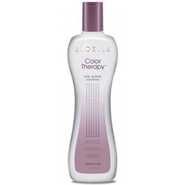Biosilk Color Therapy Cool Blonde šampūnas šviesintiems plaukams 355 ml.