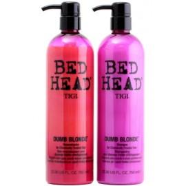 Tigi Bed Head Dumb Blonde rinkinys (šampūnas 750 ml. ir kaukė 750 ml.)