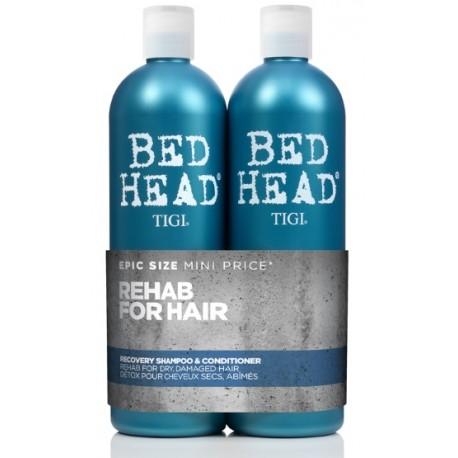 Tigi Bed Head Recovery rinkinys (šampūnas 750 ml. ir kondicionierius 750 ml.)