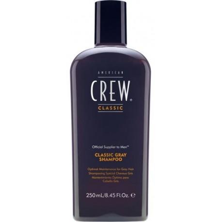 American Crew Classic Gray Shampoo šampūnas pilkiems/ žiliems plaukams 250 ml.