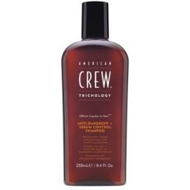 American Crew Trichology Anti-Dandruff + Sebum Control šampūnas nuo pleiskanų 250 ml.